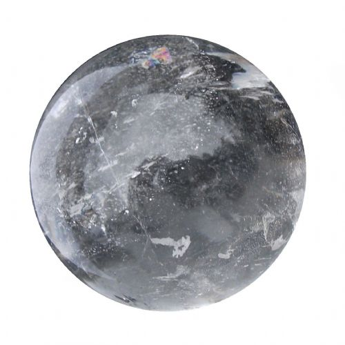 Rock Quartz Crystal Ball Scrying Gazing Fortune Telling Sphere 53mm 210g CB16